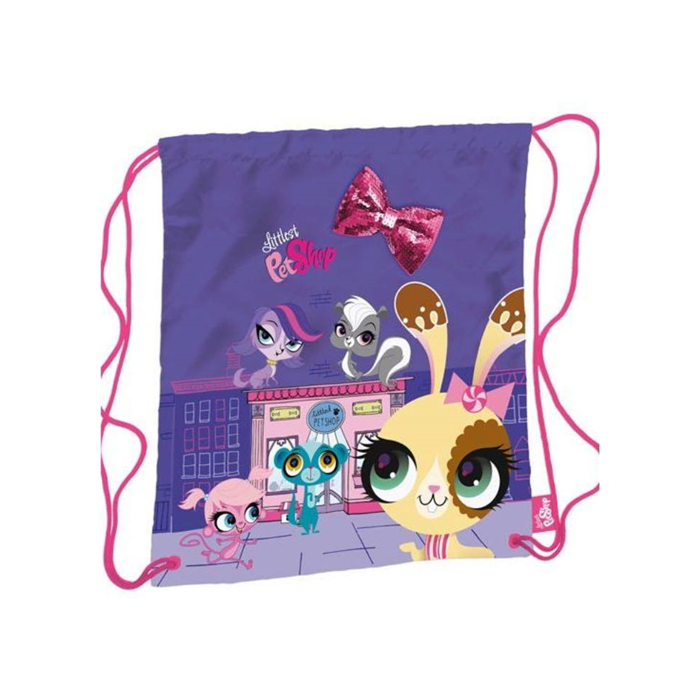 Littlest Pet Shop - Tornazsák - lila