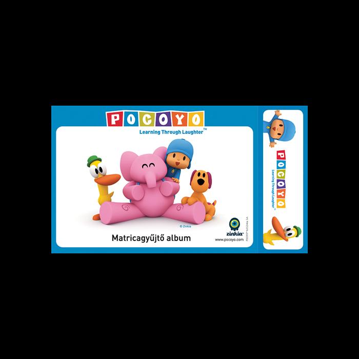 Pocoyo - Matricagyűjtő album