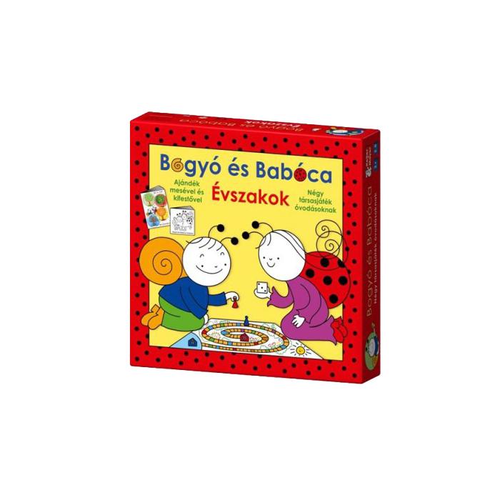 Bogyó és Babóca - Évszakok társasjáték