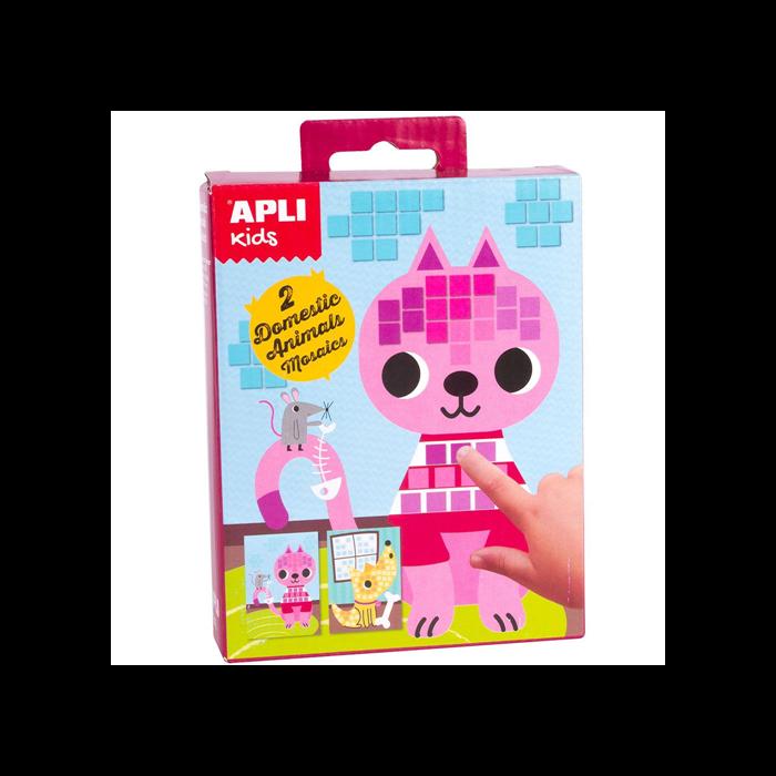 Apli Kids - Mini Kit mozaiktechnika - Háziállat