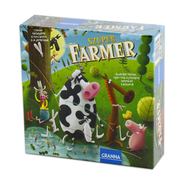 Granna - Szuper Farmer Midi társasjáték