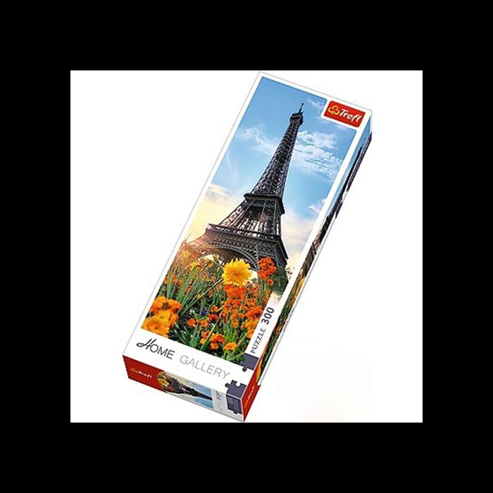 Trefl - Home Gallery Puzzle - Eiffel torony virágok között