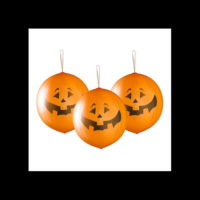 Halloween - Tökös boxlabda lufi - 3 db
