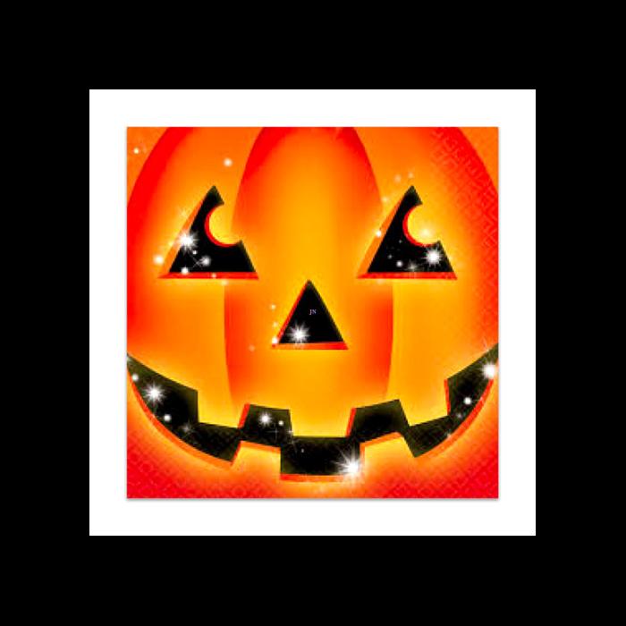 Halloween - Tökös szalvéta