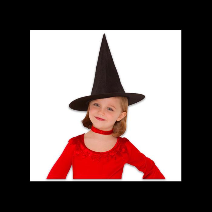 Boszorkány kalap, fekete