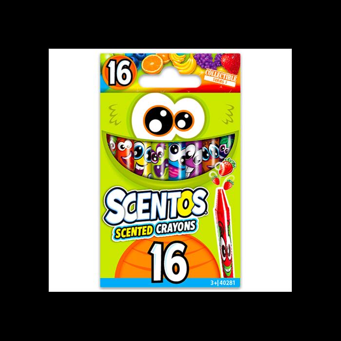 Scentos - Illatos zsírkréta - 16 db