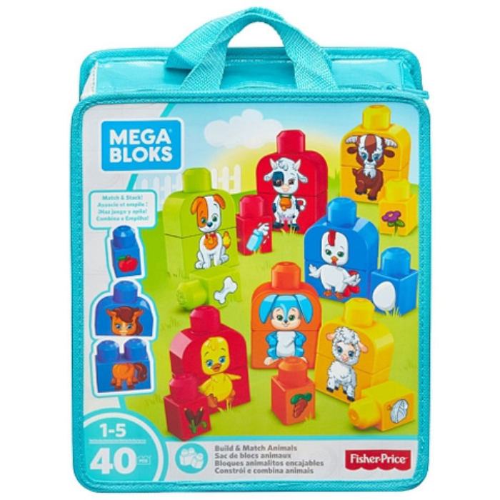 Mega Bloks - Állatos párkereső