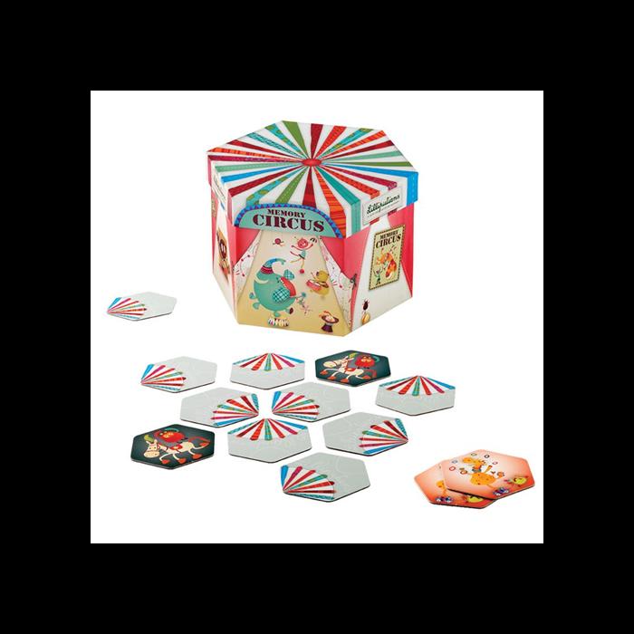 Lilliputiens - Cirkusz memóriajáték