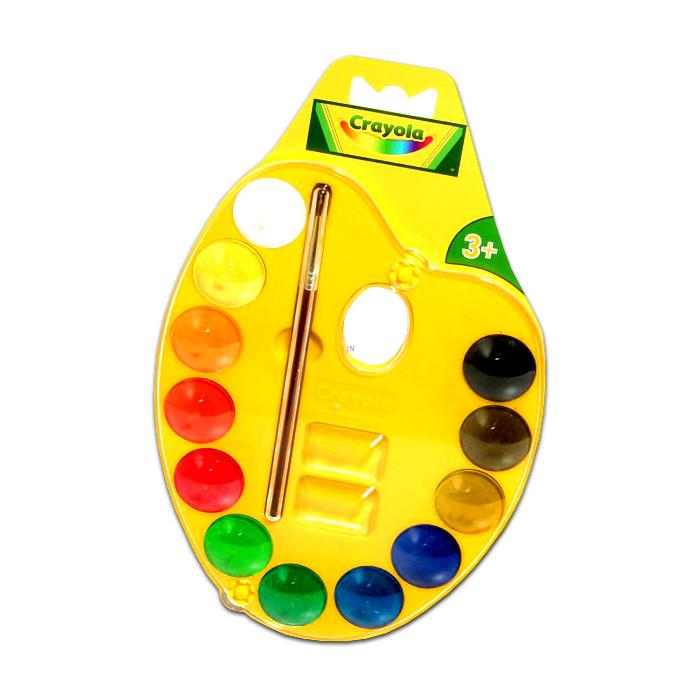 Crayola - Palettás vízfesték készlet