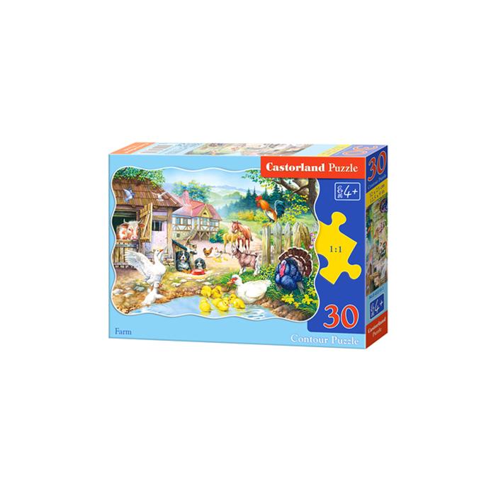 Farm 30 db-os puzzle