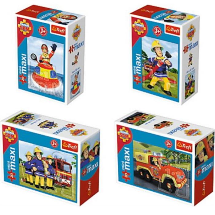 Trefl - Sam, a tűzoltó 20 db-os miniMaxi puzzle