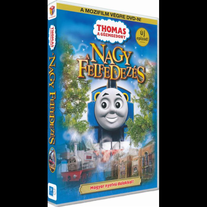 Thomas, a gőzmozdony - A nagy felfedezés DVD