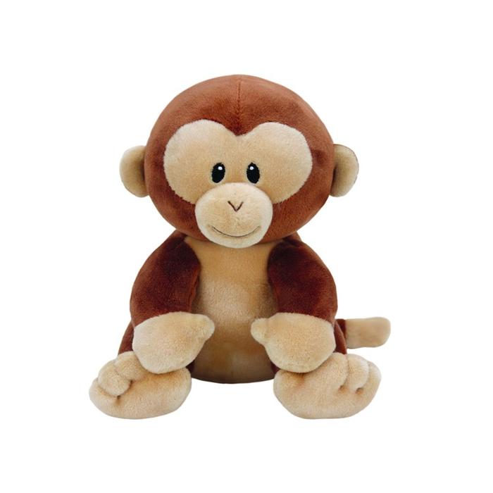 Baby majom plüss figura - 15 cm