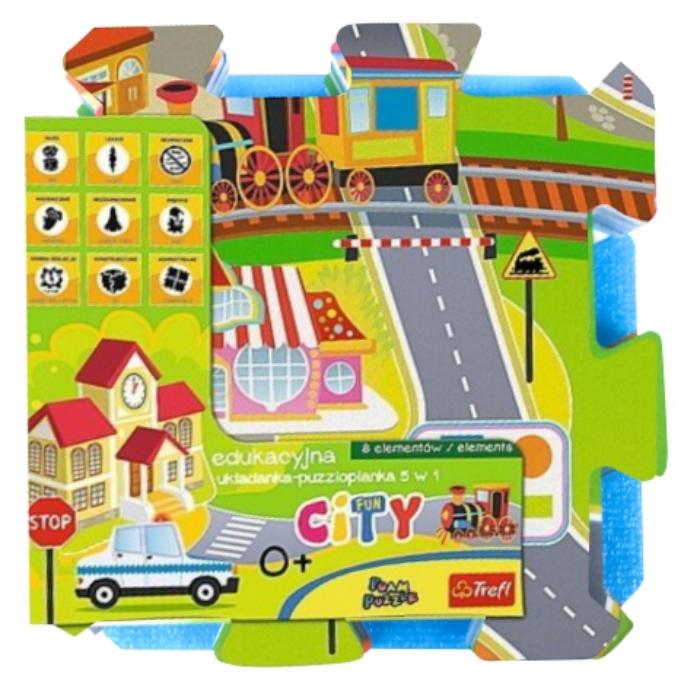 Trefl - Városi móka szivacs puzzle