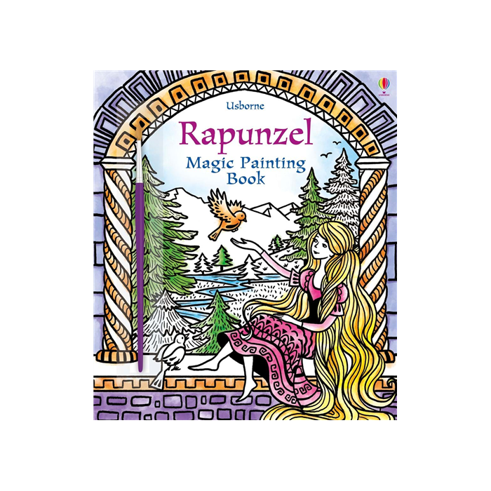 Magic Painting book Rapunzel