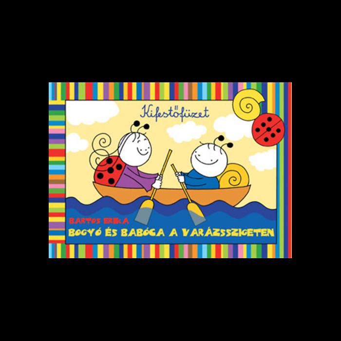 Bogyó és Babóca a varázsszigeten - színező, kifestőfüzet