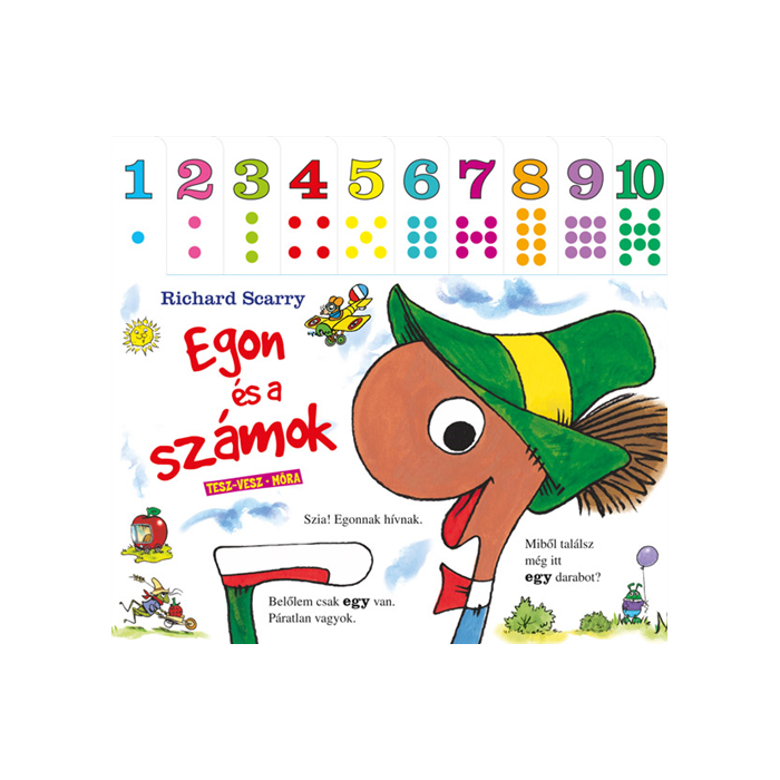 Egon és a számok - lapozó