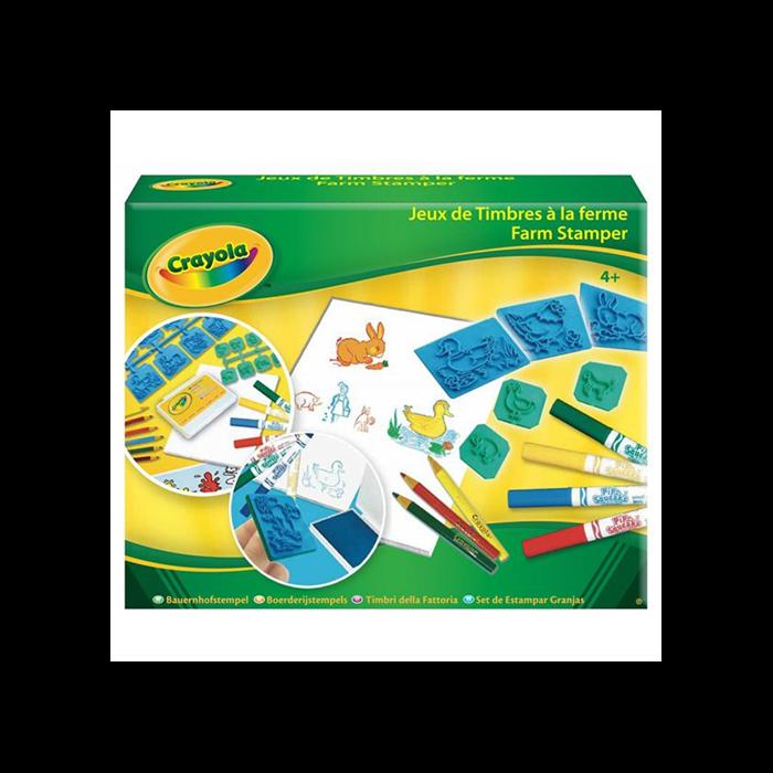 Crayola - Nyomdaszett, lemosható