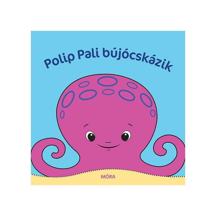 Polip Pali bújócskázik - pancsolókönyv