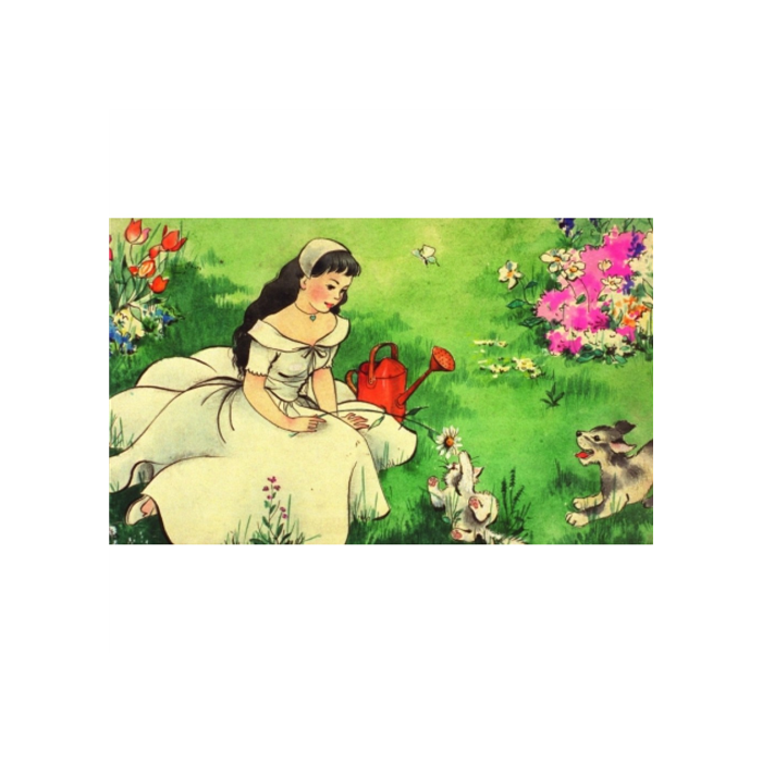Diafilm - Hófehérke és a hét törpe / Snow White and the Seven Dwarves