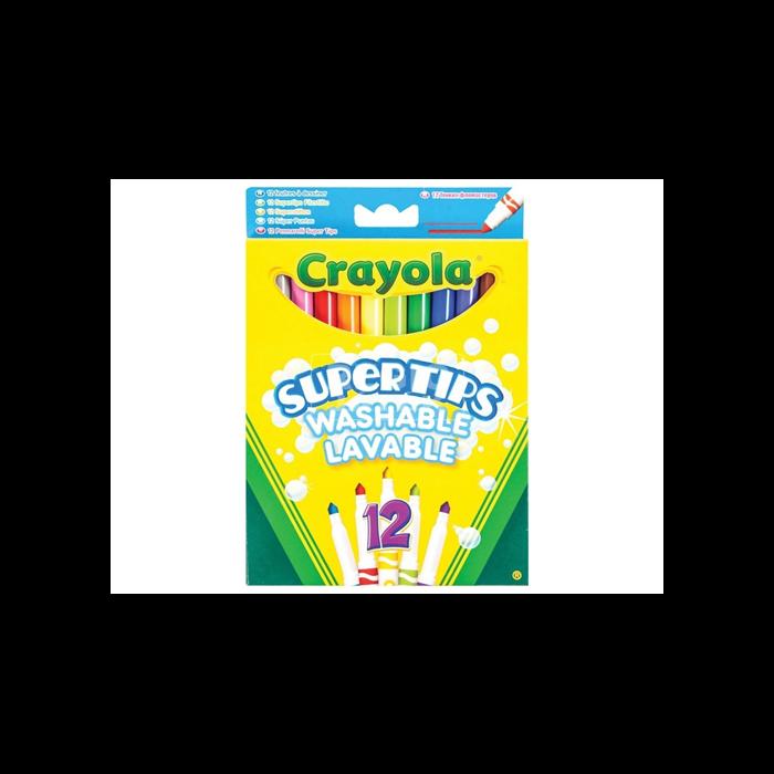 Crayola - Vékony filctoll - 12 db-os