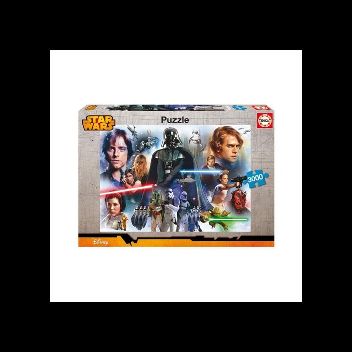 Star Wars puzzle - 3000 db-os