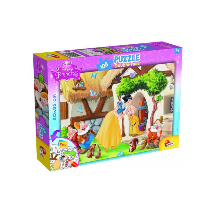 Hófehérke és a hét törpe Disney puzzle - 108 db-os