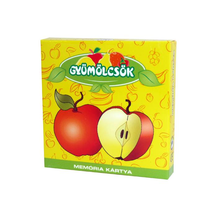 Memóriakártya - Gyümölcsök