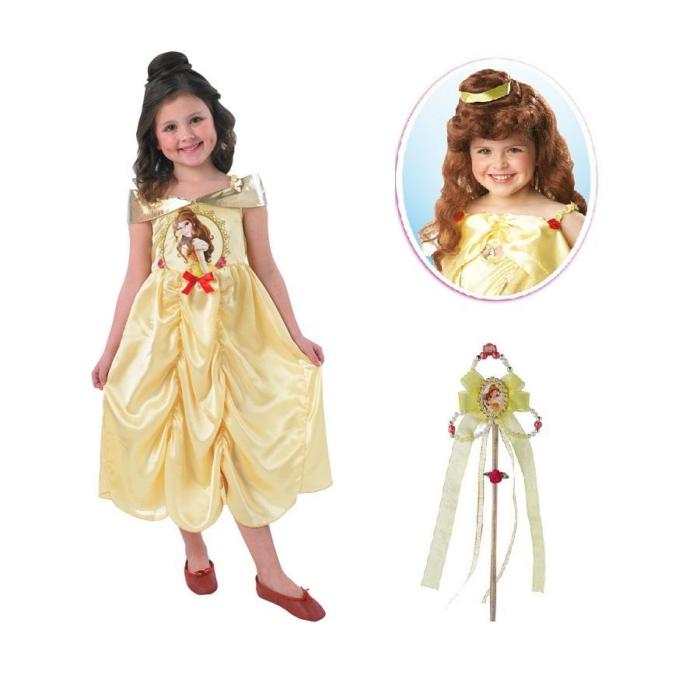 Disney Hercegnők - Bell Jelmez - Csillogó