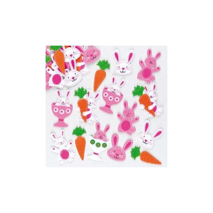 68a425e336 Baker Ross - Húsvéti nyuszi répával filc matrica