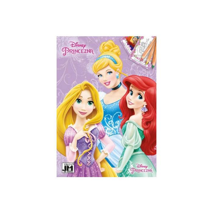 Disney Hercegnők - Színezőfüzet - A5