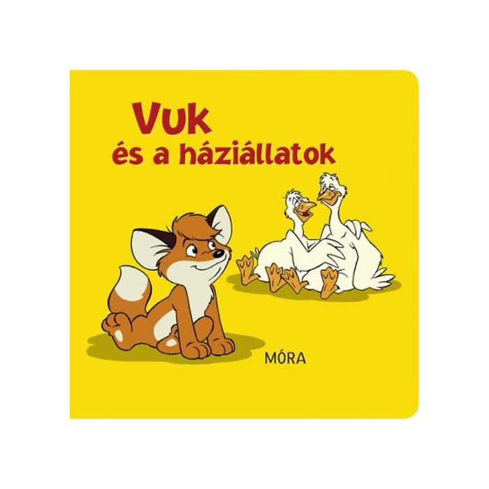 Vuk és a háziállatok - pancsolókönyv