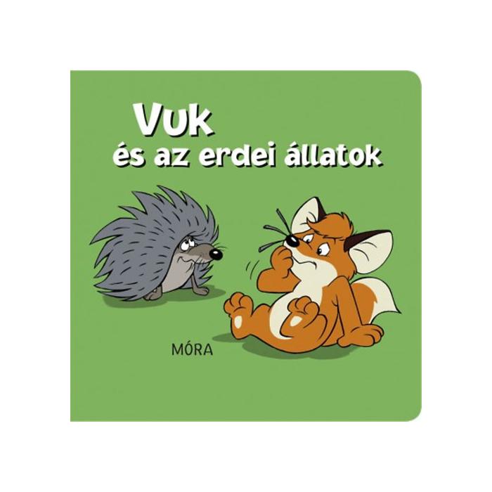 Vuk és az erdei állatok - pancsolókönyv