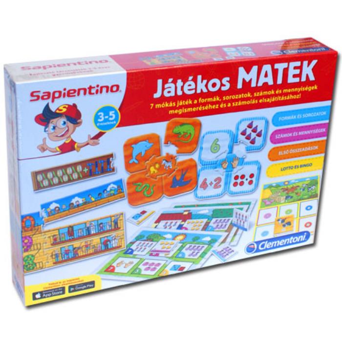Sapientino - Fejlesztő társasjáték - Matek
