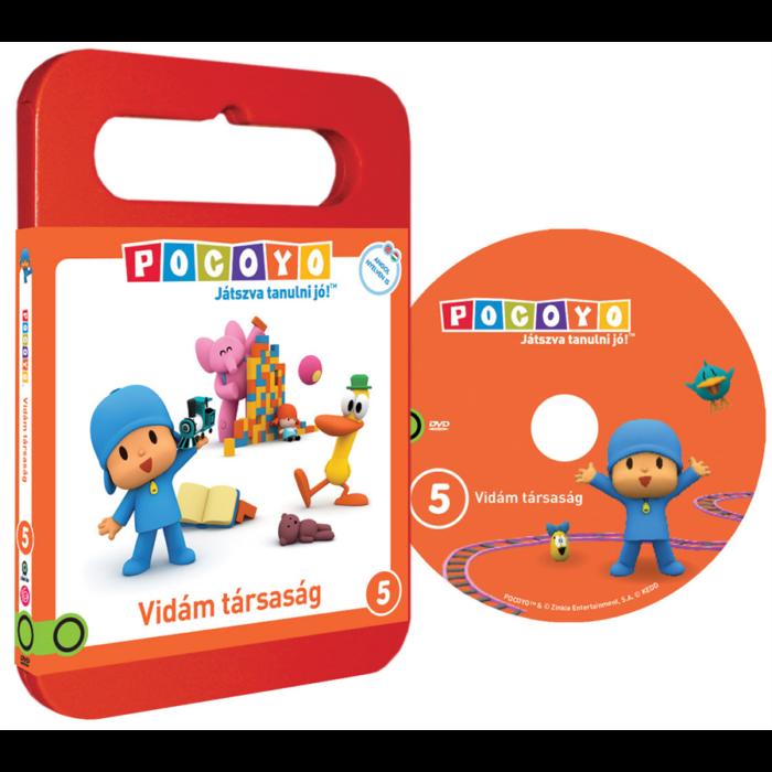 POCOYO DVD 5. - Vidám társaság