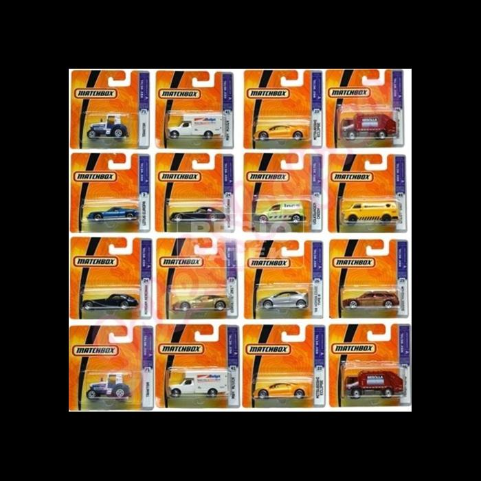 Matchbox - 1 darabos kisautó - többféle