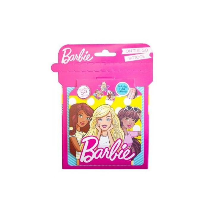 Barbie - 3D tetoválás készlet - 50 db-os