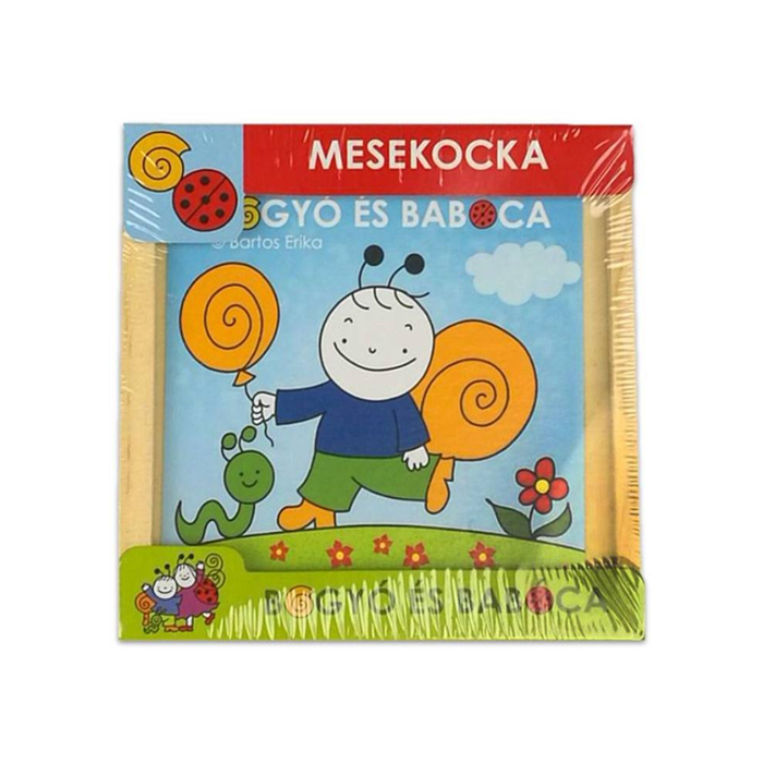 Bogyó és Babóca - Fa Mesekocka - 9 db-os - Bogyó és barátai