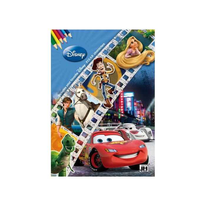 A4 színezőfüzet - Walt Disney Kifestő