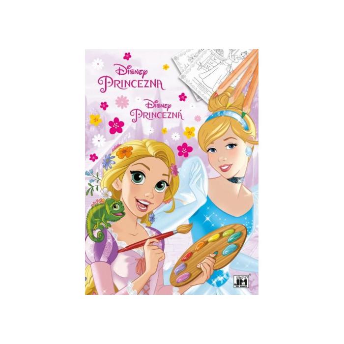 Hercegnők - A4 színezőfüzet