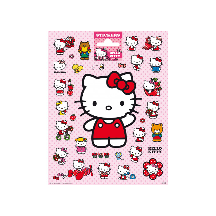 Hello Kitty - Matrica - 16x20 cm