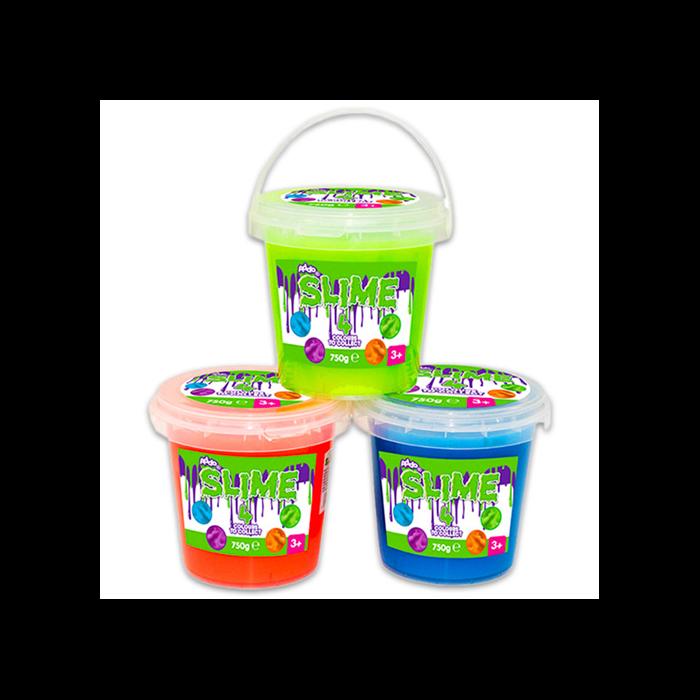 Slime - Vödrös - 750 g, több színben