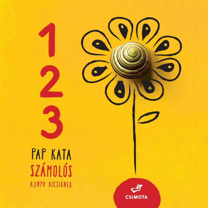 1, 2, 3 – Számolós könyv kicsiknek - lapozó