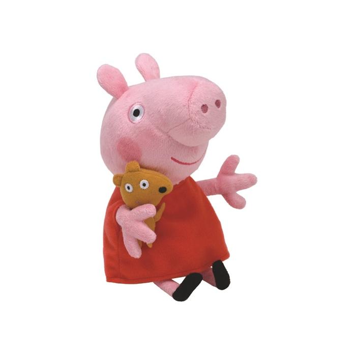 Peppa malac plüss figura - 15 cm - Peppa