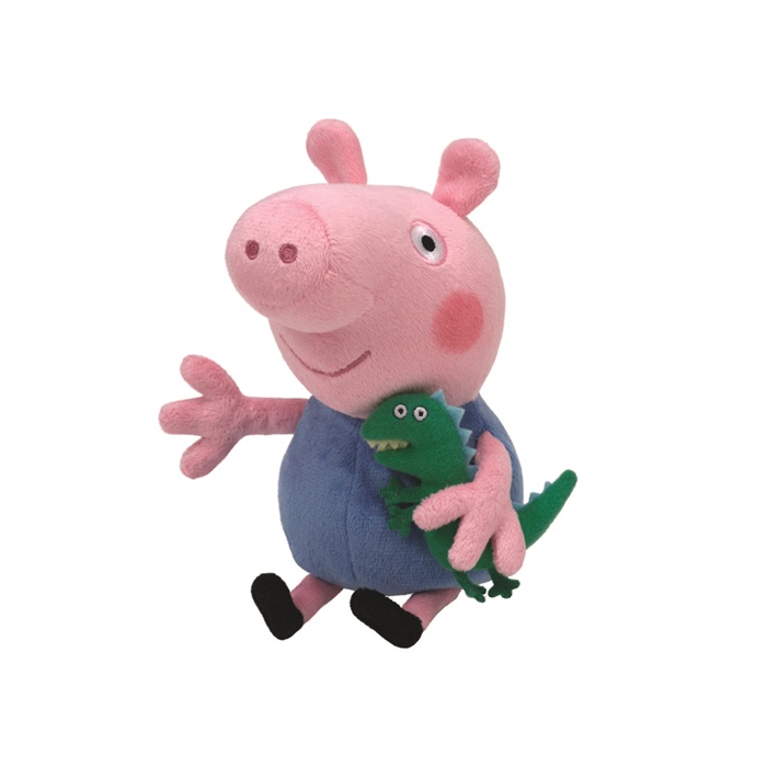 Peppa malac plüss figura - 15 cm - George