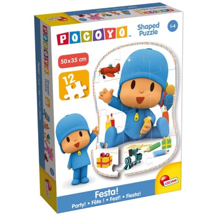 Pocoyo - 12 db-os Formapuzzle - Pocoyo Játszik