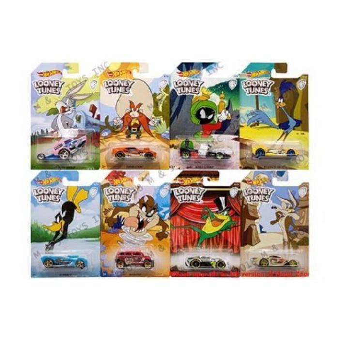 Hot Wheels - Looney Tunes kisautó - többféle