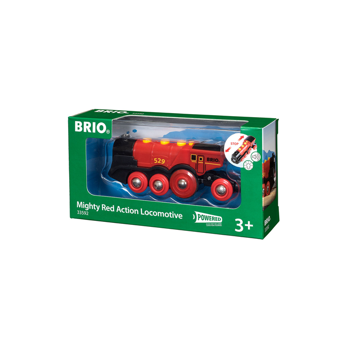 Brio - Piros Action Lokomotív