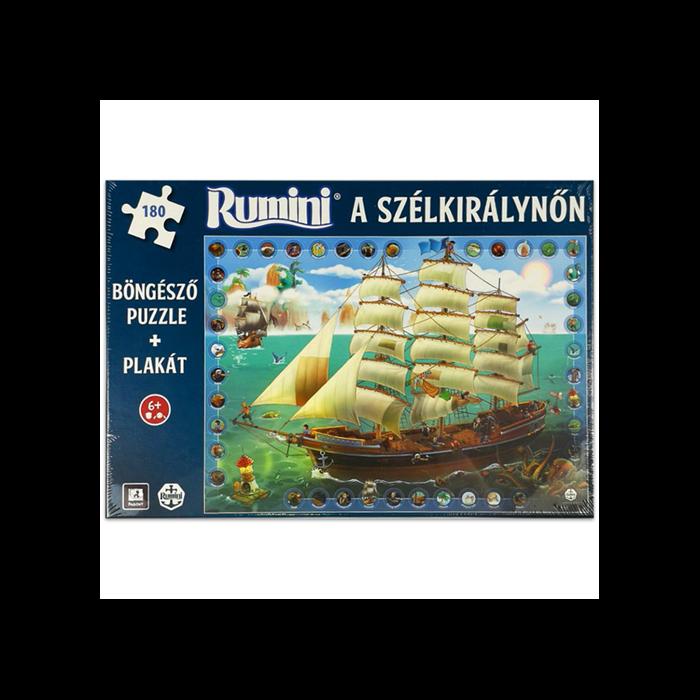 Rumini a Szélkirálynőn - puzzle