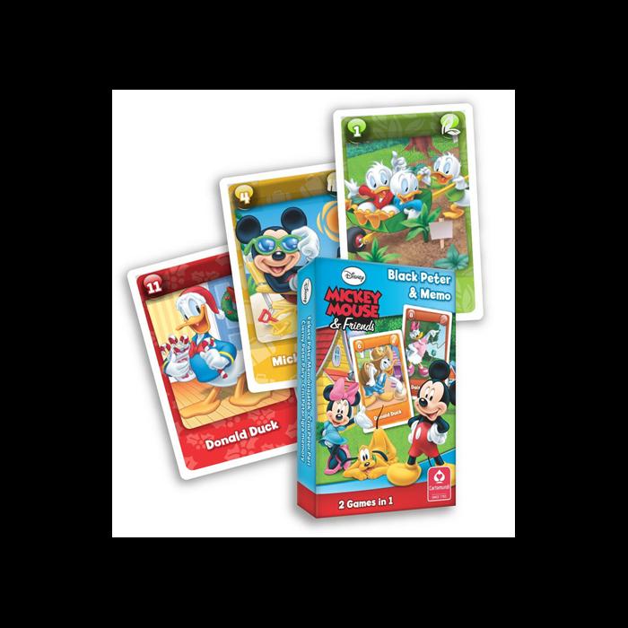Mickey egér Fekete Péter kártyajáték